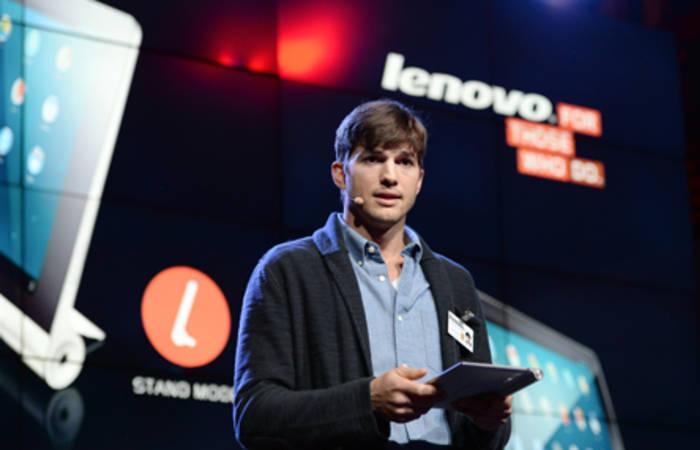 Lenovo e Ashton Kutcher, un'unione vincente