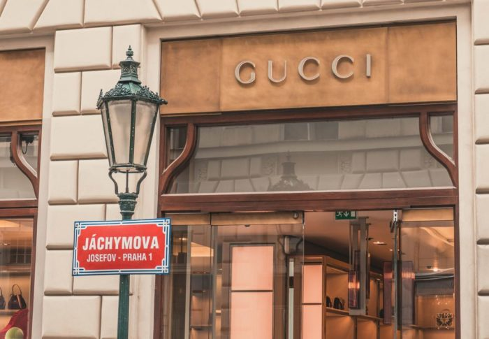 Gucci boutique in Praga