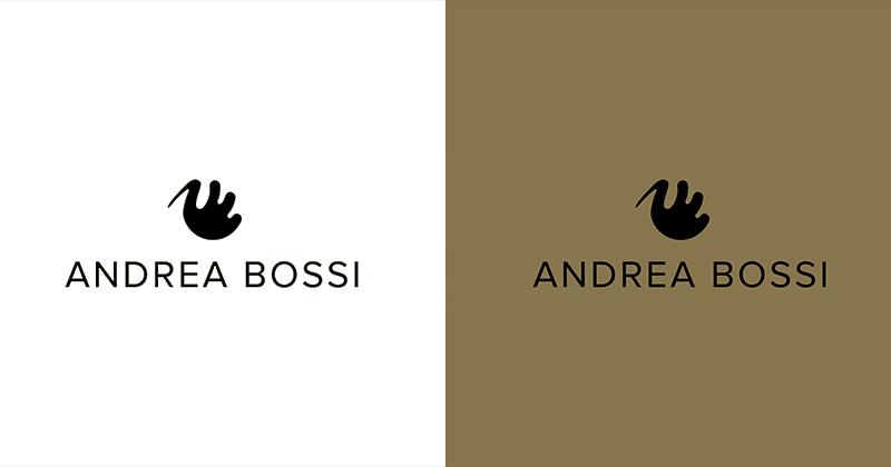 Logo Andrea Bossi, abbigliamento maschile
