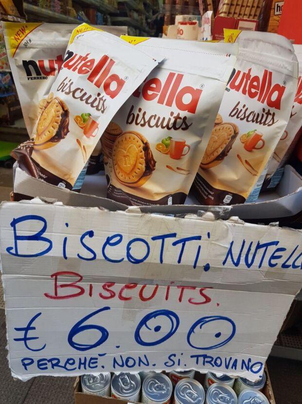 Nutella Biscuits, bagarini a Napoli